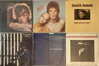 "Lot 35 - David Bowie And Related -  LP/12""/10""/Shaped 7"" Collection"