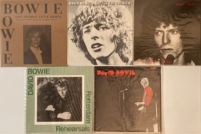 Lot 36 - David Bowie - Private Release LPs
