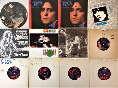 "Lot 37 - T. Rex/Marc Bolan - 7"" Collection"