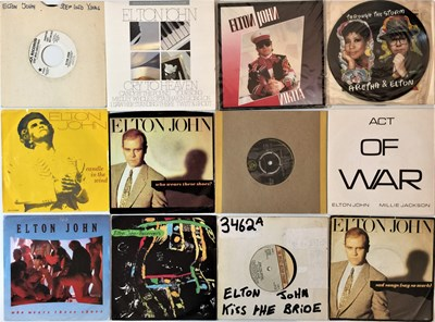 "Lot 38 - Elton John - 7"" Collection"