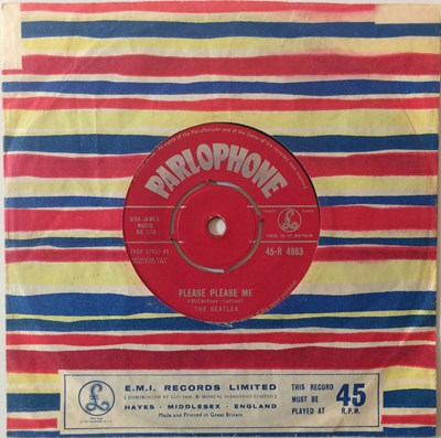 "Lot 5 - The Beatles - Please Please Me 7"" (Original UK Pressing - Parlophone 45-R 4983)"