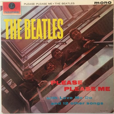 Lot 7 - The Beatles - Please Please Me LP (1st UK Mono Pressing 'Black And Gold'/2nd Printing Sleeve - PMC 1202)