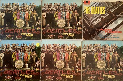 Lot 8 - The Beatles - Spare LP Sleeves (Including 1st Please Please Me, Fourth Proof Sgt Pepper's And More!)