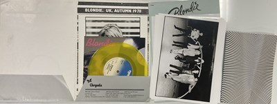 Lot 23 - BLONDIE PRESS AND PUBLICITY ITEMS