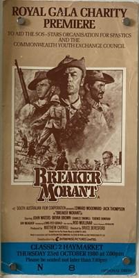 Lot 29 - BREAKER MORANT -  BRIAN BYSOUTH SIGNED POSTER AND MEMORABILIA