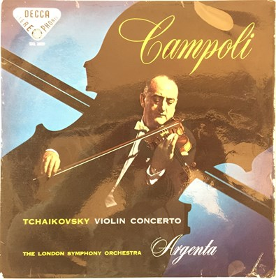 Lot 619 - Alfredo Campoli - Tchaikovsky Violin Concerto  (ED1 Decca Stereo - SXL 2029)