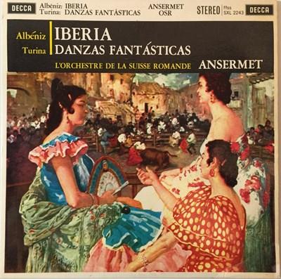 Lot 621 - Ernest Ansermet - Albeniz/Turina LP (ED1 Stereo Decca Recording - SXL 2243)