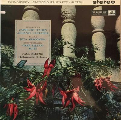 Lot 622 - Paul Kletzki - Tchaikovsky Capriccio Italien Etc LP (Original UK HMV Stereo Recording - ASD 343)