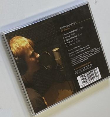 Lot 284 - ED SHEERAN SIGNED ORANGE ROOM CD