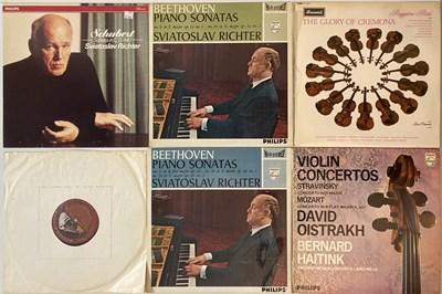 Lot 635 - Classical - Violin/Piano Virtuosos - LP Rarities.