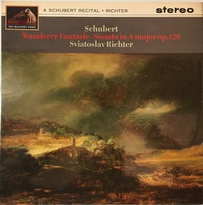 Lot 640 - Sviatoslav Richter - A Schubert Recital LP (Original UK HMV Stereo Recording - ASD 561)