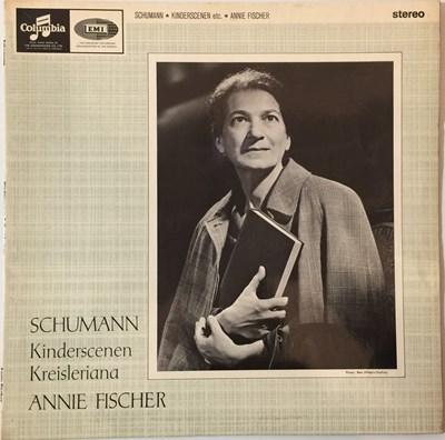 Lot 641 - Annie Fischer - Schumann Kinderscenen/Kreisleriana LP (Original UK Columbia Stereo Recording - SAX 2583)