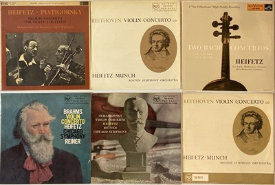 Lot 647 - Jascha Heifetz - RCA LPs