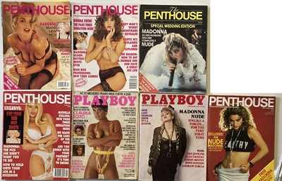 Lot 47 - MADONNA MAGAZINES AND BOOKS - INC PLAYBOY