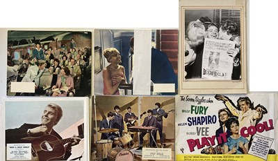 Lot 21 - BILLY FURY / POP FILMS LOBBY CARDS