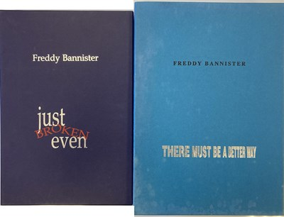 Lot 28 - FREDDY BANNISTER LIMITED EDITION  BOOK SETS - KNEBWORTH / BATH