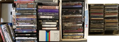 Lot 25 - CD SINGLES AND MUSIC DVDS