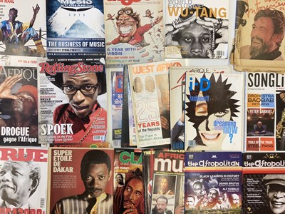 Lot 37B - AFRICAN /. REGGAE MUSIC MAGAZINES
