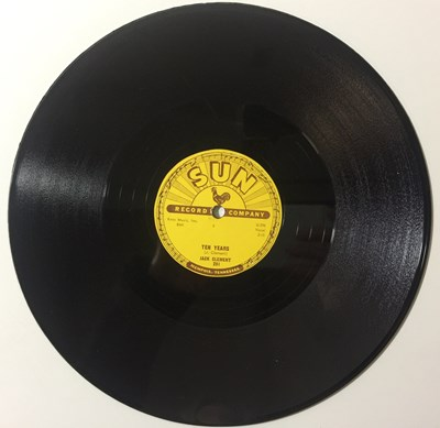 Lot 19 - Jack Clement - Ten Years/ Your Lover Boy 78 (SUN 291)