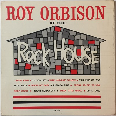 Lot 26 - Roy Orbison - At The Rock House (SUN LP 1260)