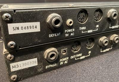 Lot 7 - Studio Equipment - Alesis Midiverb II and Midiverb III - lot 7