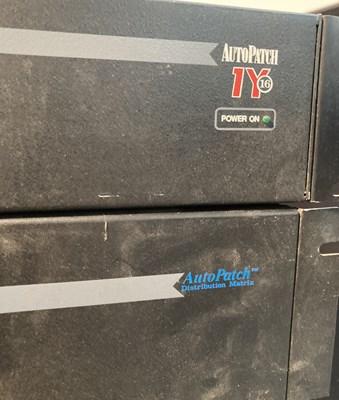 Lot 14 - Studio Equipment - AutoPatch Distribution Matrix - Four Examples - 14