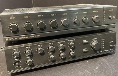 Lot 16 - Studio Equipment - TOA Amplifiers - 16