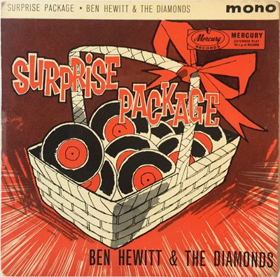 "Lot 37 - Ben Hewitt & The Diamonds - Surprise Package 7"" EP (ZEP 10088)"