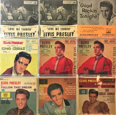 "Lot 39 - Elvis Presley - 7"" EP Collection"