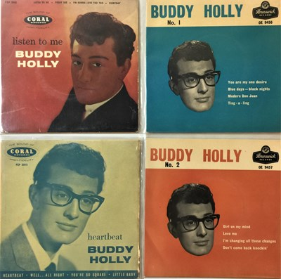 "Lot 41 - Buddy Holly - 7"" UK EP Rarities"