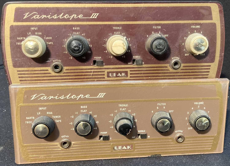 Lot 23 - Audio Equipment - Rogers Speakers / Leak Variscope - 23