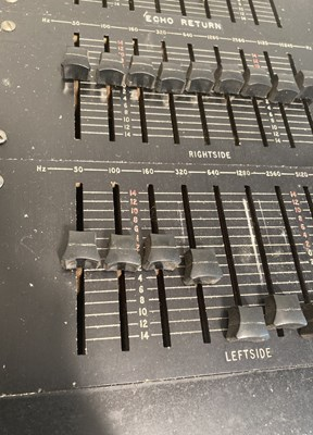 Lot 34 - Vintage Marshall 20 Channel Mixing Desk - 34