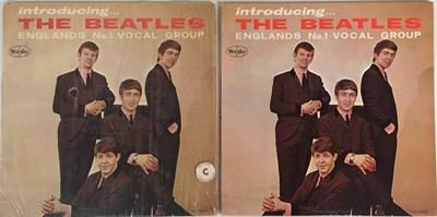 Lot 9 - THE BEATLES - INTRODUCING THE BEATLES (ORIGINAL US PRESSING LPs)