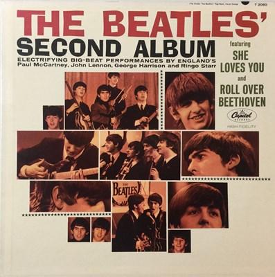 Lot 10 - THE BEATLES - SECOND ALBUM LP (ORIGINAL US RCA CONTRACT PRESSING - SUPERB COPY)