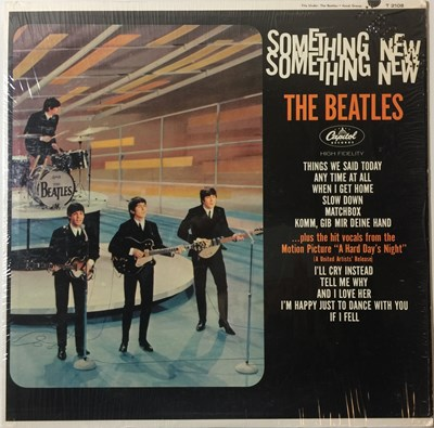 Lot 11 - THE BEATLES - SOMETHING NEW LP (ORIGINAL US MONO PRESSING - CAPITOL T 2108 - SUPERB COPY)