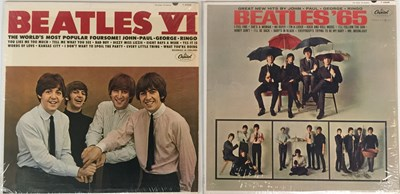 Lot 12 - THE BEATLES - BEATLES '65 AND VI LPs (ORIGINAL US MONO PRESSINGS - SUPERB COPIES)