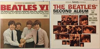 Lot 16 - THE BEATLES - SECOND ALBUM & VI LPs (ORIGINAL US STEREO PRESSINGS - SUPERB COPIES)