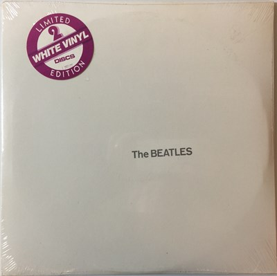 Lot 22 - THE BEATLES - WHITE ALBUM (1976 US WHITE VINYL COPY SEBX-11841 - FACTORY SEALED)