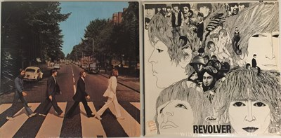 Lot 23 - THE BEATLES - REVOLVER & ABBEY ROAD LPs (ORIGINAL US STEREO PRESSINGS - SUPERB COPIES)