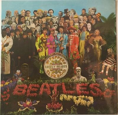 Lot 27 - THE BEATLES - SGT. PEPPER'S LONELY HEARTS CLUB BAND LP (ORIGINAL UK STEREO COPY - PCS 7027)