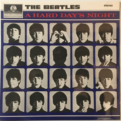Lot 28 - THE BEATLES - A HARD DAY'S NIGHT LP (3RD UK STEREO PRESSING - PCS 3058 ARCHIVE COPY)
