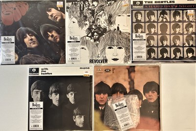 Lot 34 - THE BEATLES - STUDIO LPs (2014 LIMITED EDITION HEAVYWEIGHT 180G PRESSINGS)