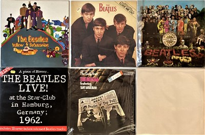 Lot 36 - THE BEATLES - LPs (REISSUES/LATER TITLES)