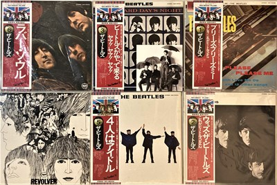 Lot 37 - THE BEATLES - JAPANESE PRESSING LP COLLECTION (1976 ISSUES)