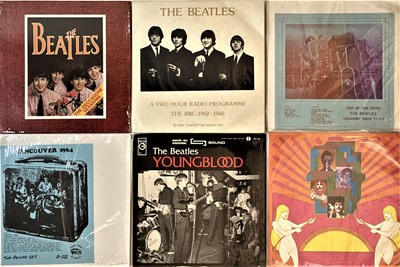 """Lot 39 - THE BEATLES - LPs/10"""" - PRIVATE RELEASES"""