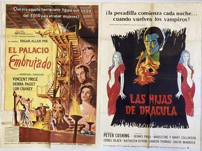 Lot 21 - FILM POSTERS INC SPANISH HORROR
