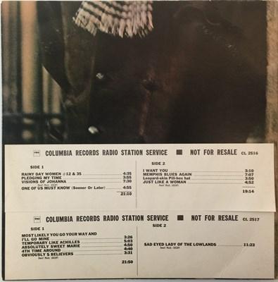 Lot 152 - Bob Dylan - Blonde On Blonde LP (US Radio Station Promo - C2L 41)