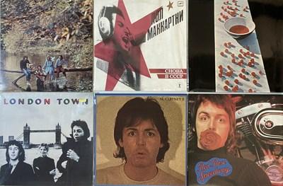 "Lot 41 - PAUL McCARTNEY/WINGS/JOHN LENNON/RINGO STARR - LPs/7"" BOX SET"