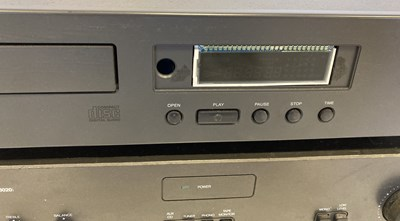 Lot 35 - NAD CD PLAYER AND AMPLIFIER.