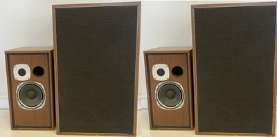 Lot 36 - SPEAKERS - GOODMANS AND CASTLE.